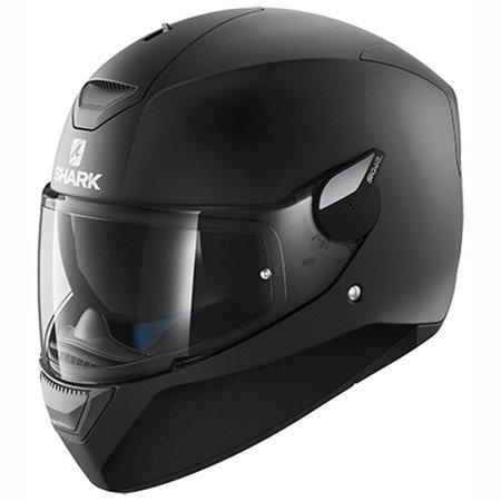 Shark D-Skwal Helmet Blank Mat KMA – Matt Black