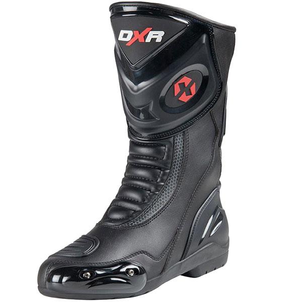 DXR Code Microfibre Boots – Black